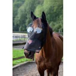 Sale - Fly mask with motif
