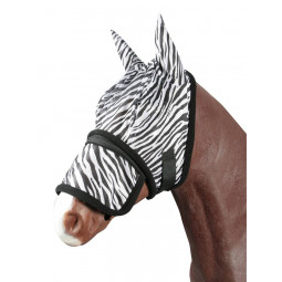 "Sale - Fly mask ""Zebra"""