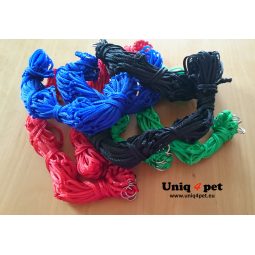 Hay net (red, blue, green, black)