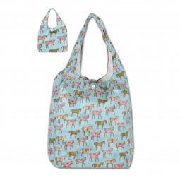 Akcija - Nakupovalna vreča z motivom konjev