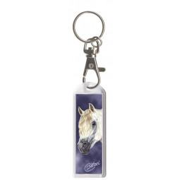 "Key Chain with Carabine ""Exclusive Pferdemotive"" Welsh Pony"