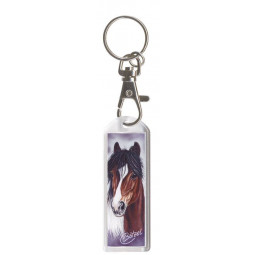"Key Chain with Carabine ""Exclusive Pferdemotive"" Shetty Rapport"