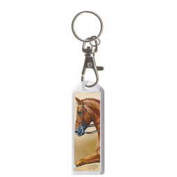"Key Chain with Carabine ""Exclusive Pferdemotive"" Weltmeyer"