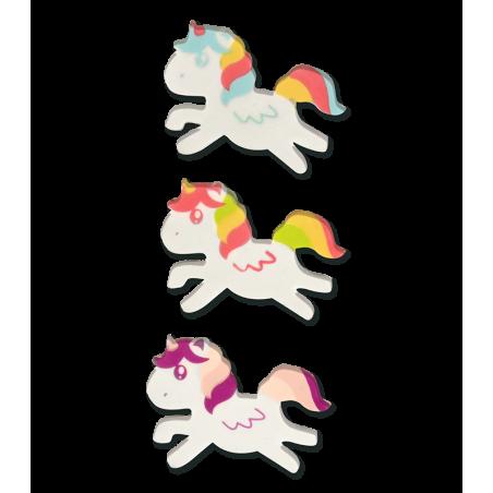 Radirka samorog/Unicorn, različne barve