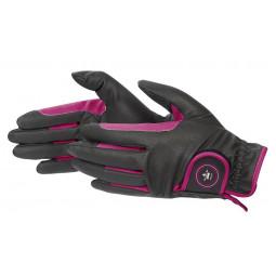 Razprodaja-Zimske rokavice, roza, vel. SS