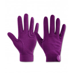 Jahalne rokavice Picot/ELT, lila, vel.: S