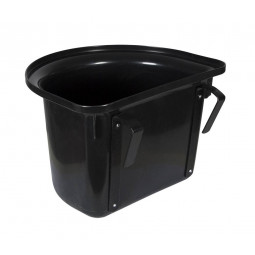 Sale - Plastic bucket, black