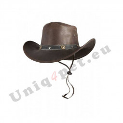 Akcija - Usnjen Western klobuk TEXAS