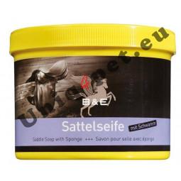B&E Saddle Soap with Sponge